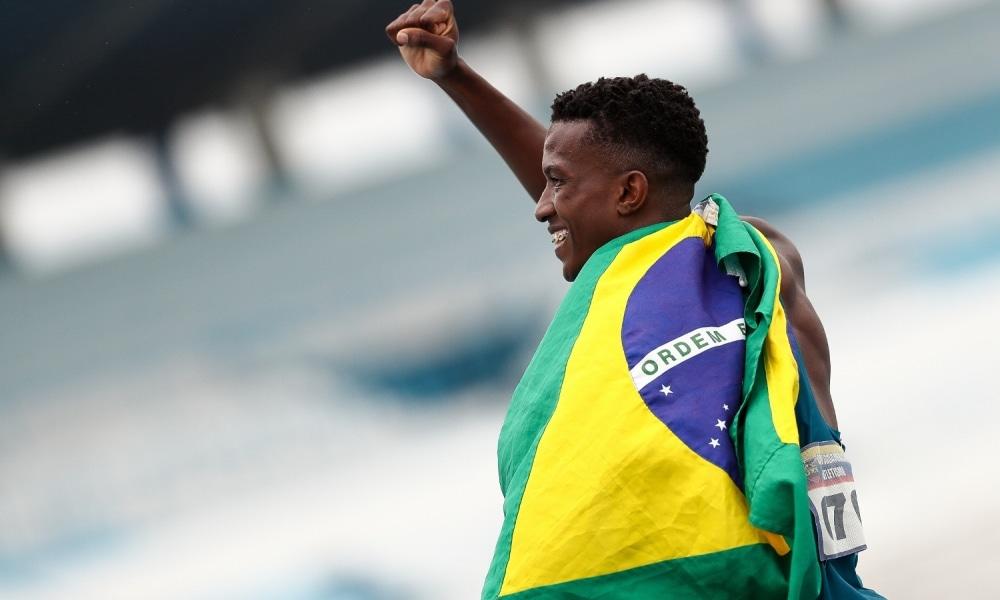 Felipe Bardi - 100m - Revezamento 4x100m - Atletismo - Jogos Olímpicos de Tóquio 2020