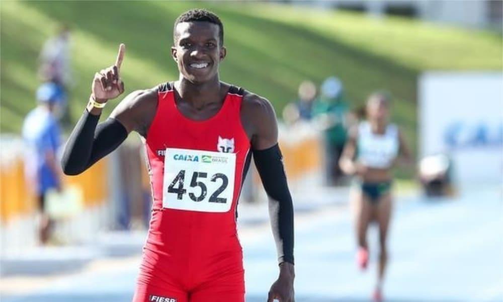 Felipe Bardi - Revezamento 4x100m - Jogos Olímpicos de Tóquio 2020 - 100m rasos