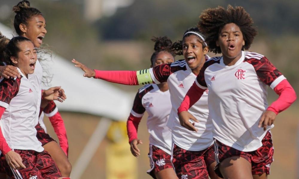 Flamengo - Internacional - São Paulo - Brasileiro Feminino Sub-18