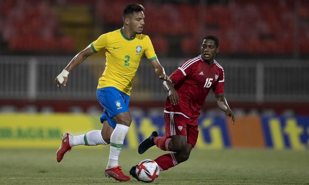 Gabriel Menino - futebol masculino - Jogos Olímpicos de Tóquio 2020