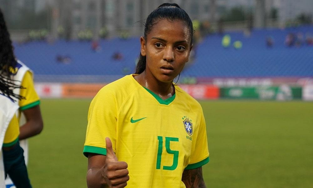 Geyse - seleção brasileira de futebol feminino - Jogos Olímpicos de Tóquio 2020