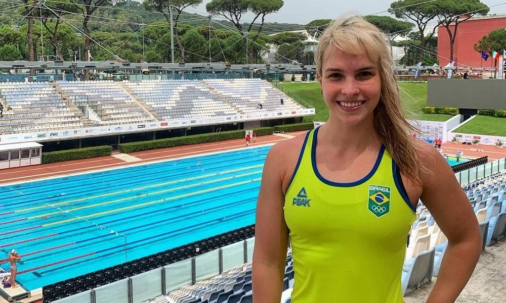 Giovanna Diamante - natação - 4x100 medley misto - Jogos Olímpicos de Tóquio 2020