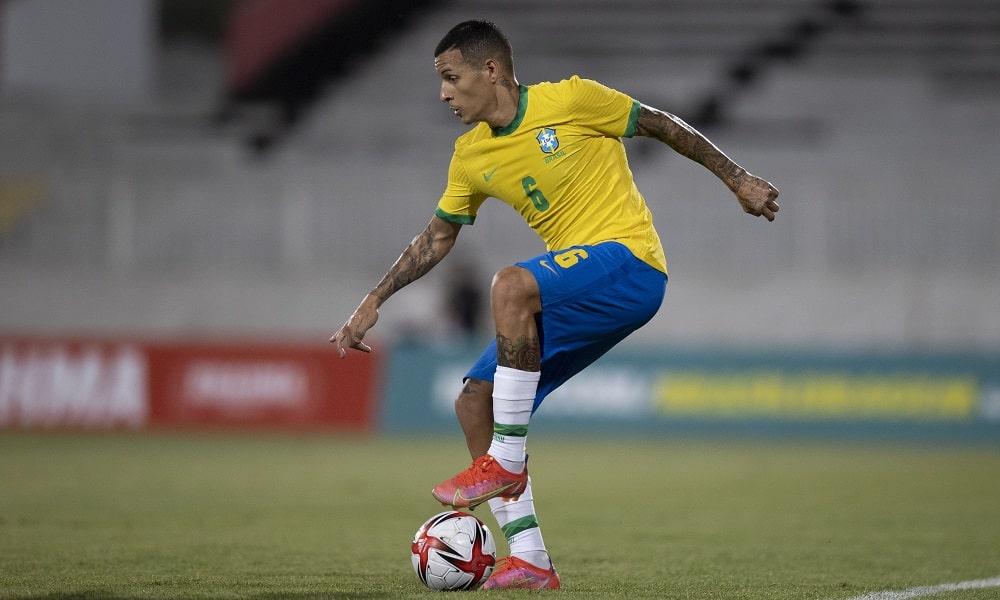 Guilherme Arana - futebol masculino - Jogos Olímpicos de Tóquio 2020