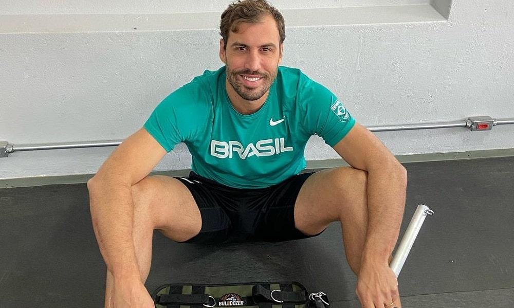 Guilherme Guido - natação - 100m costas masculino - Jogos Olímpicos de Tóquio 2020