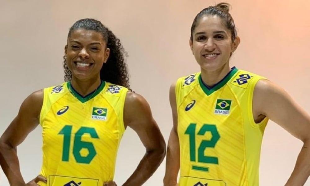 Natália - Fê Garay - seleção feminina de vôlei - Tóquio 2020