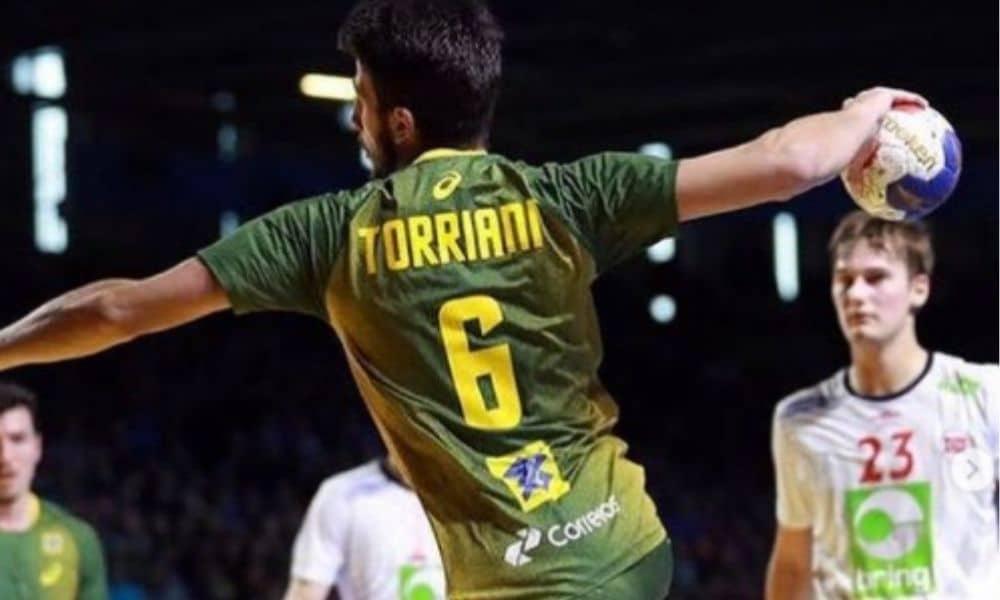 Guilherme Torriani - seleção brasileira de handebol masculino - Jogos Olímpicos de Tóquio 2020