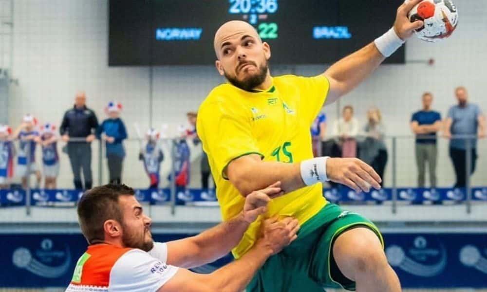 Gustavo Rodrigues - Jogos Olímpicos de Tóquio - seleção brasileira de handebol masculino - Töquio 2020