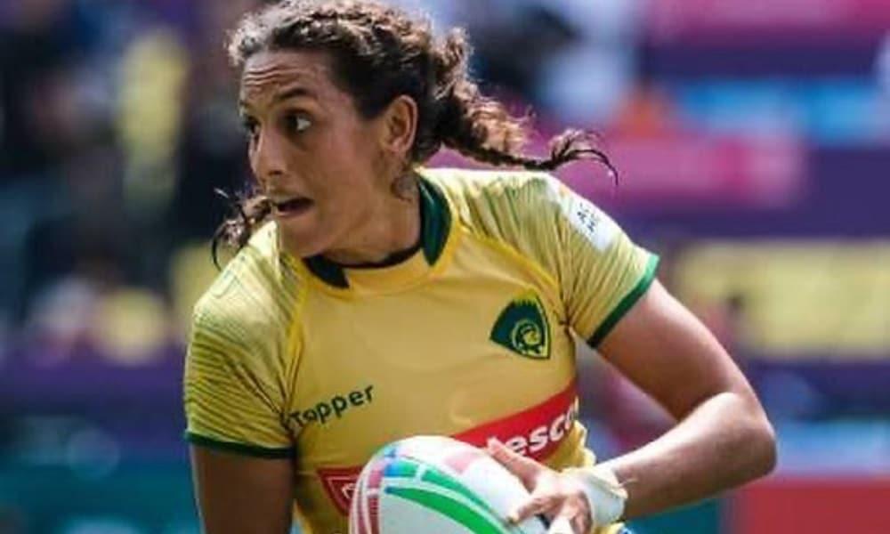 Haline Scatrut - rúgbi feminino - Jogos Olímpicos de Tóquio 2020