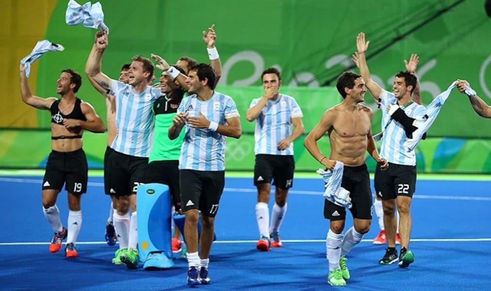 Argentina hóquei sobre a grama Rio 2016