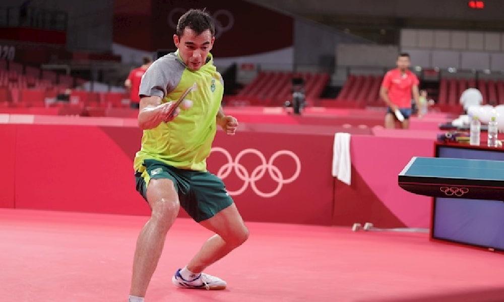Hugo Calderano - Jogos Olímpicos - Tóquio 2020