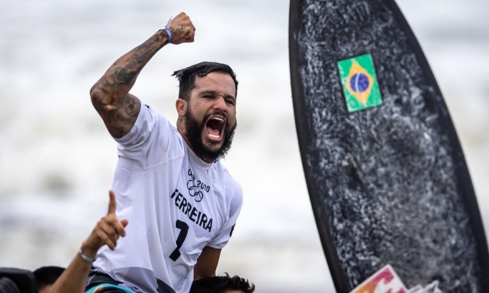 Italo Ferreira Surfe Jogos Olímpicos de Tóquio medalha ouro