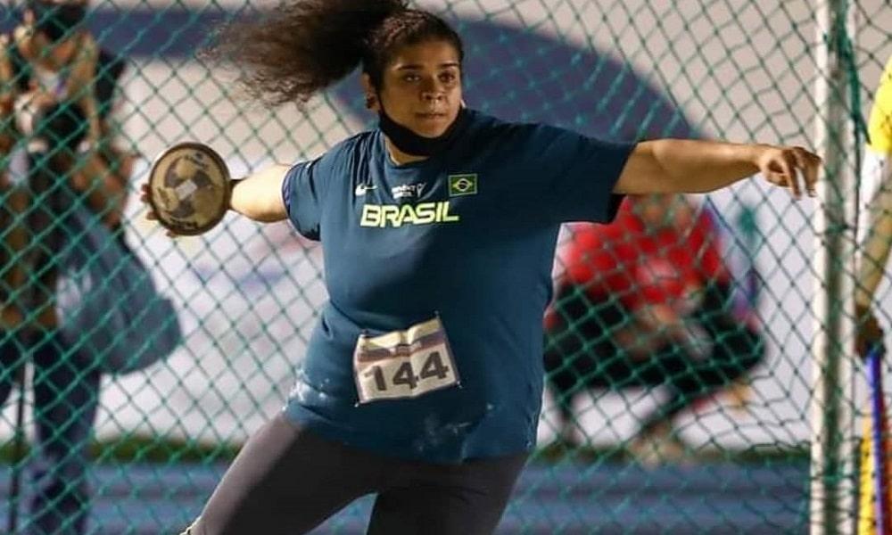 Izabela da Silva - lançamento de disco - atletismo - Jogos Olímpicos de Tóquio 2020