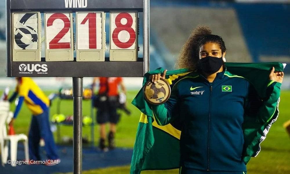 Izabela da Silva - atletismo - lançamento de disco - Jogos Olímpicos de Tóquio 2020