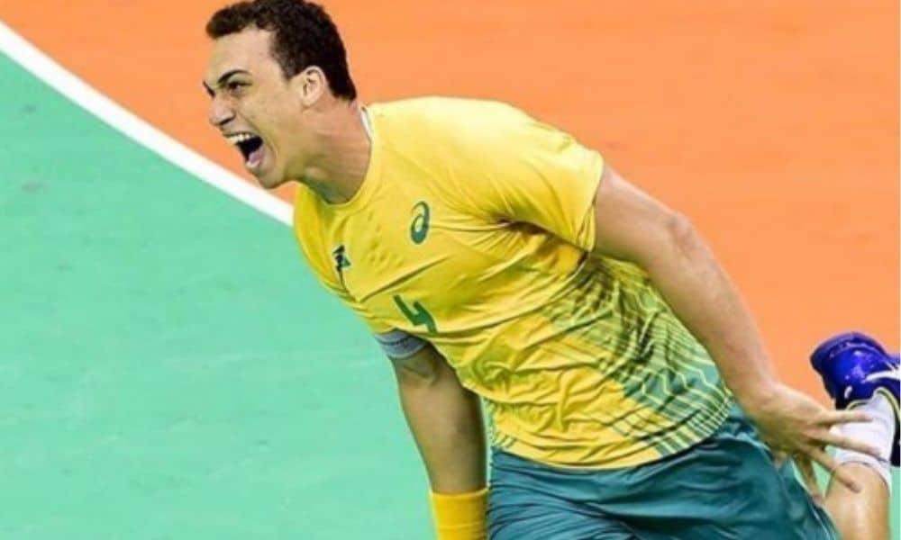 João Pedro da Silva - handebol masculino - seleção brasileira - Rio 2016 - Jogos Olímpicos de Tóquio 2020