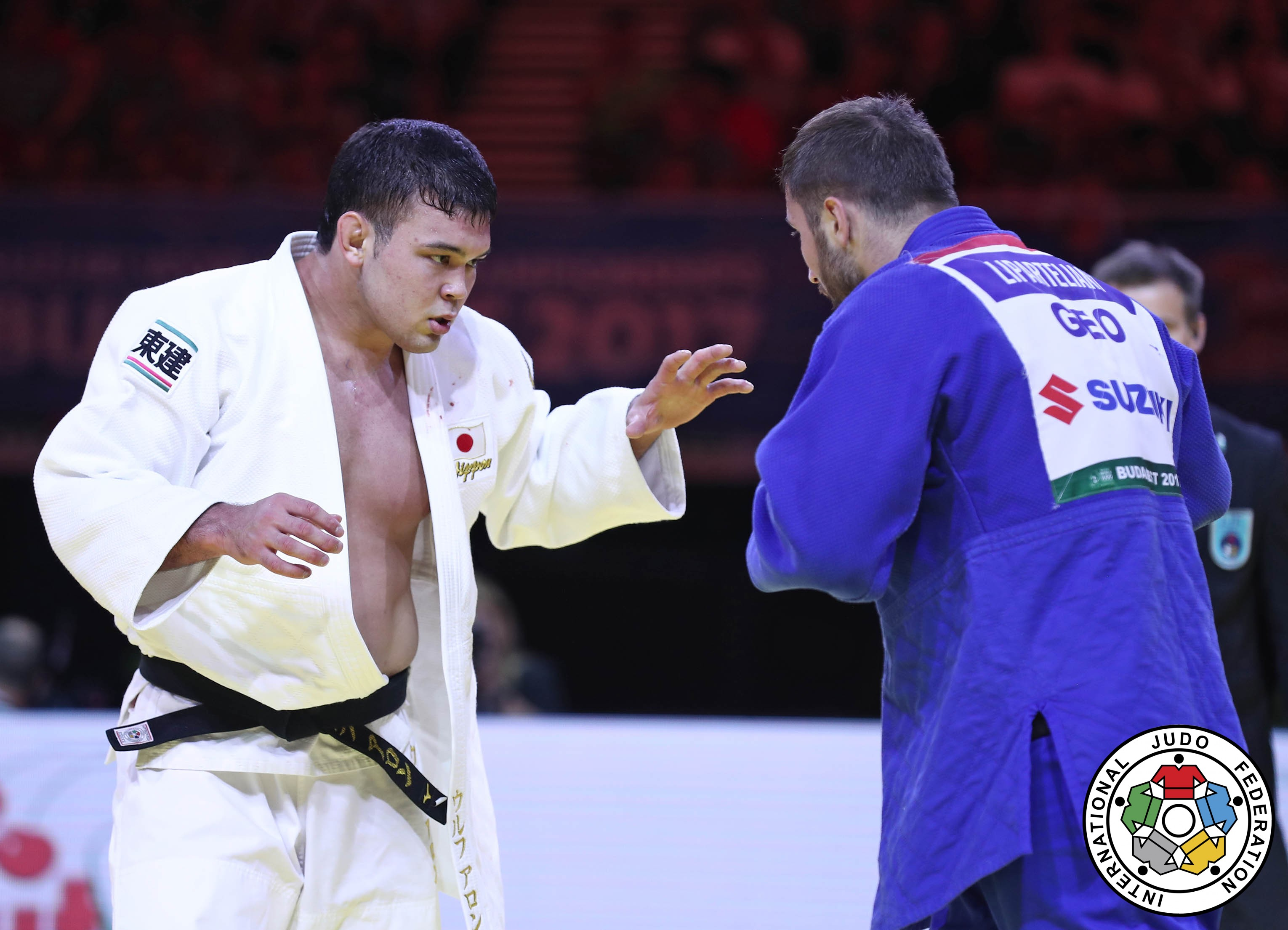 Nemanja Majdov sériva Rafael Macedo  -90 kg masculino judô Jogos Olímpicos de Tóquio 2020 Olimpíada