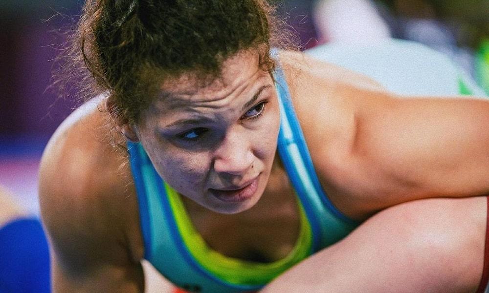 Laís Nunes em ação, de olho nos Jogos Olímpicos de Tóquio Wrestling