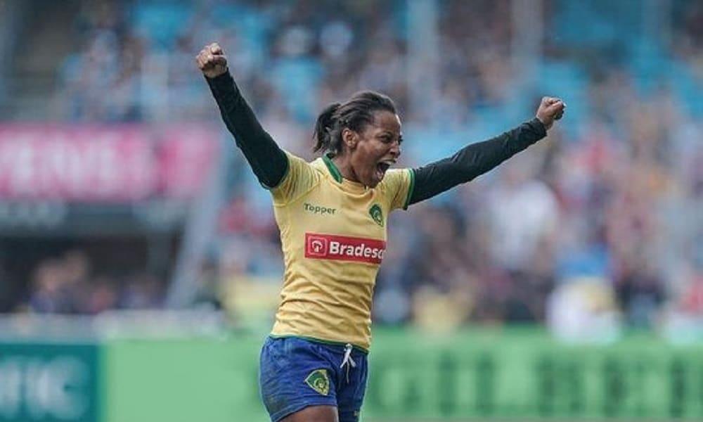 Leila Silva - rúgbi feminino - Jogos Olímpicos de Tóquio 2020