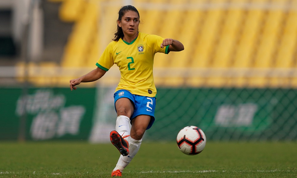 Letícia Santos - seleção brasileira de futebol feminino - Jogos Olímpicos de Tóquio 2020
