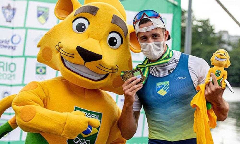 Lucas Verthein - remo - single skiff - Jogos Olímpicos de Tóquio 2020