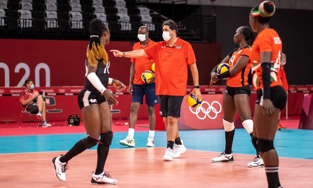Luizomar de Moura está com a Seleção de Quênia nos Jogos de Tóquio