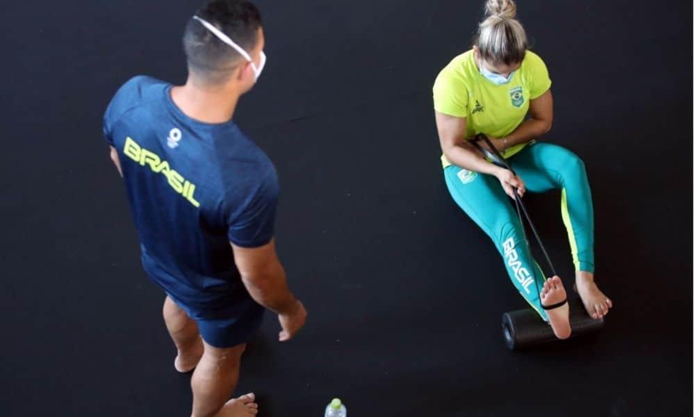 Em preparação para a estreia nos Jogos Olímpicos de Tóquio 2020, a seleção brasileira de judô reailiza treinos na cidade de Hamamatsu, no Japão