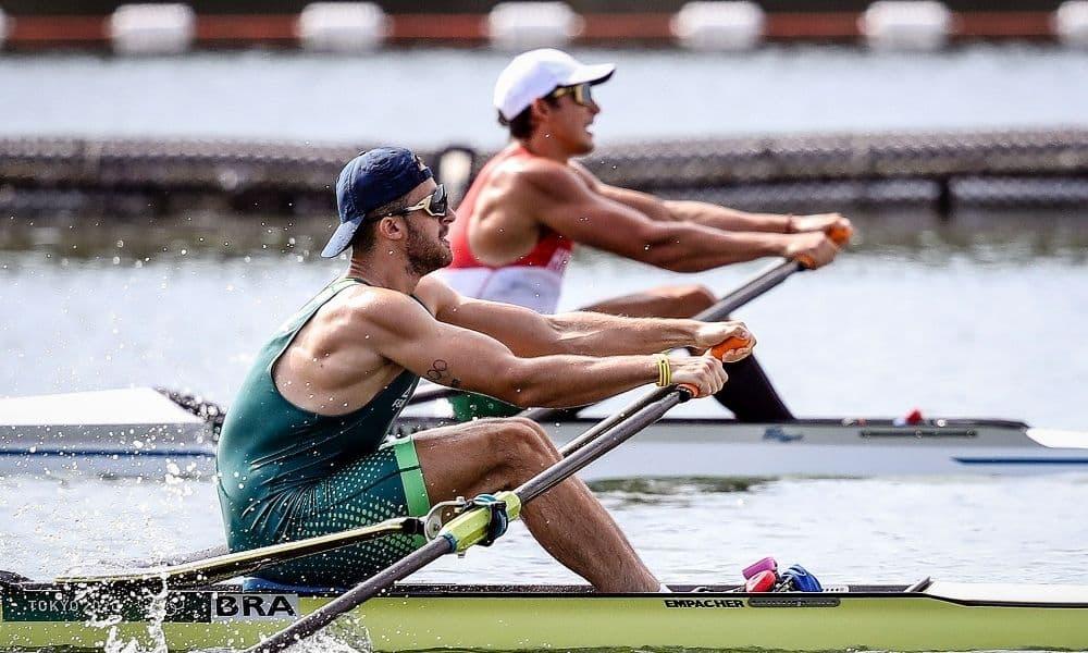 Lucas Verthein remo single skiff masculino jogos olímpicos de tóquio 2020