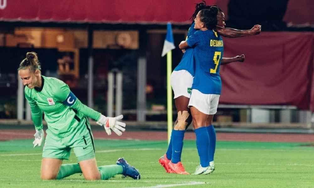 Ludmilla - futebol feminino - Jogos Olímpicos de Tóquio 2020.
