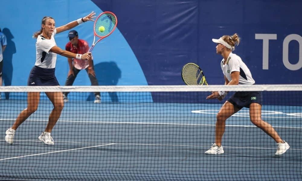 Luisa Stefani e Laura Pigossi jogos olímpicos tóquio 2020 tênis feminino duplas
