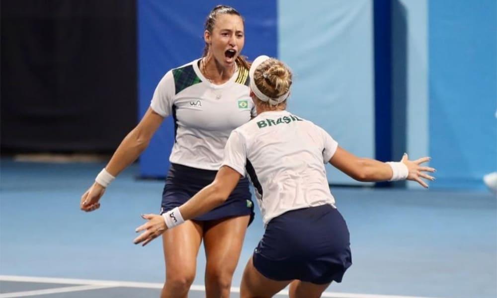 Luisa Stefani e Laura Pigossi - Duplas tênis feminino - Jogos Olímpicos de Tóquio 2020