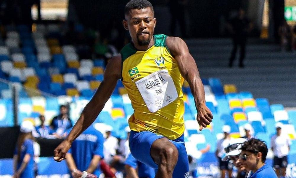 Mateus de Sá - atletismo - salto triplo - Jogos Olímpicos de Tóquio 2020
