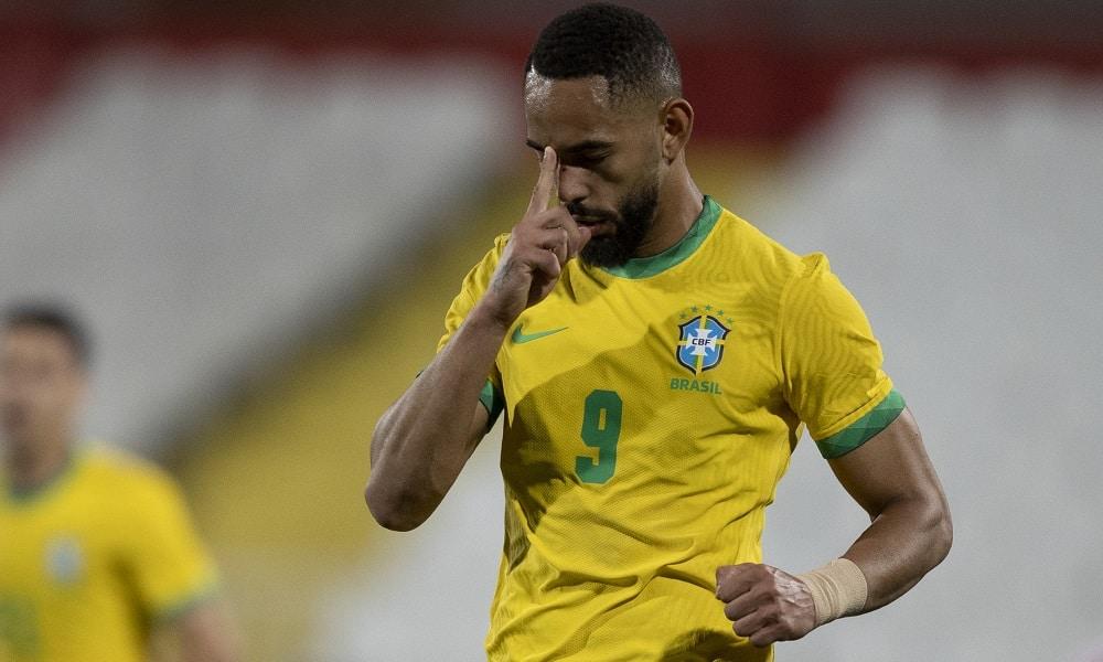 Matheus Cunha - futebol masculino - Jogos Olímpicos de Tóquio 2020