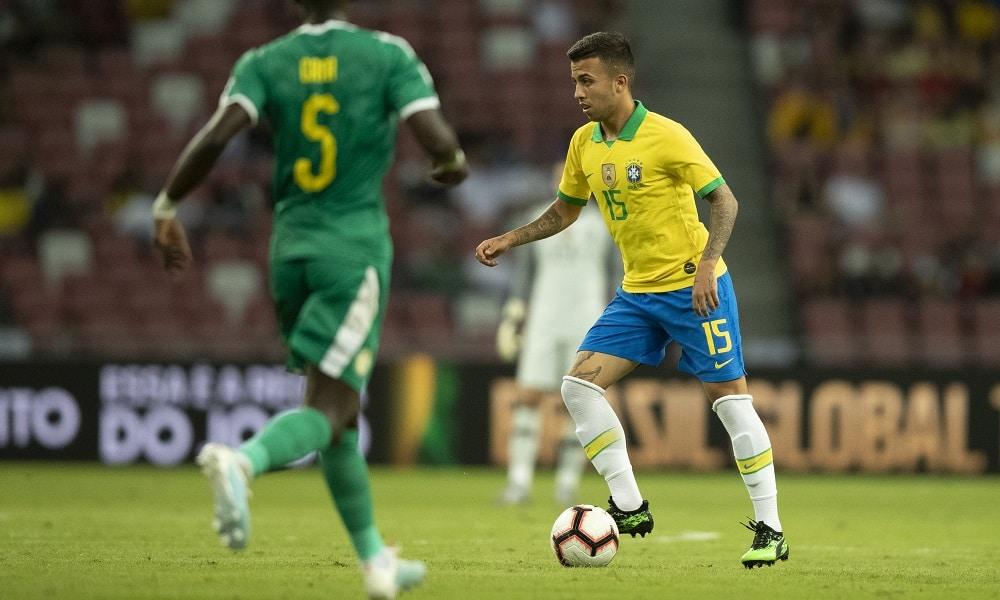 Matheus Henrique - futebol masculino - Jogos Olímpicos de Tóquio 2020