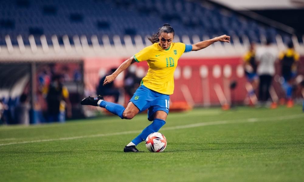 Brasil e Canadá - Seleção feminina - Jogos Olímpicos de Tóquio