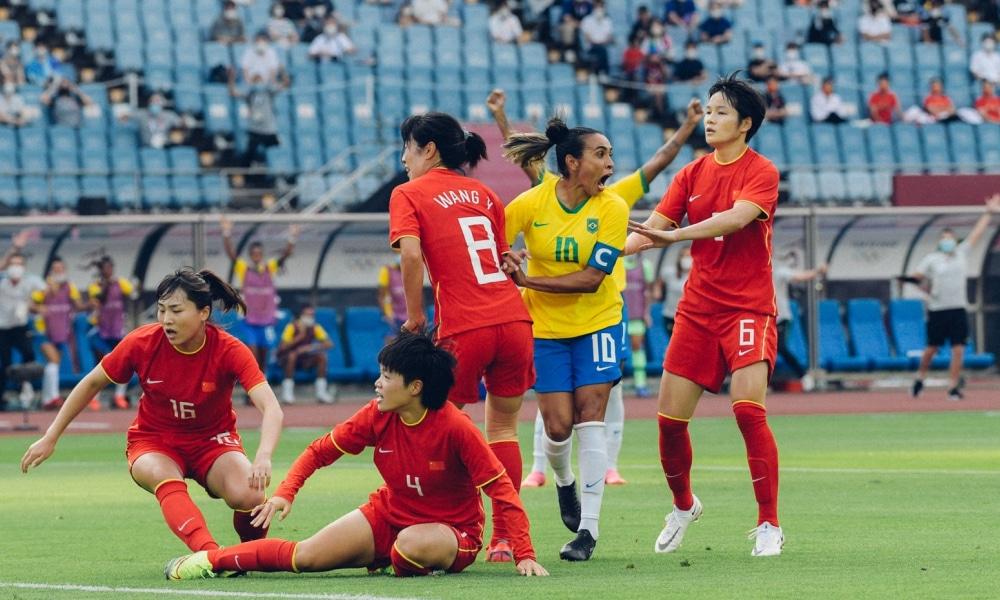 Brasil e China - Seleção feminina - Tóquio 2020 - Jogos Olímpicos