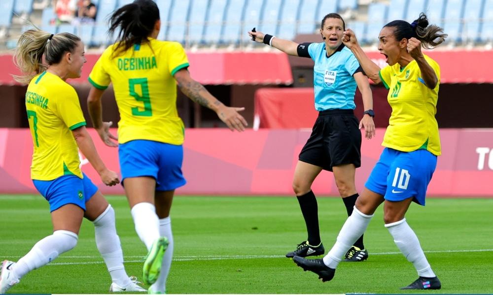 Brasil e China - Seleção feminina - Tóquio 2020