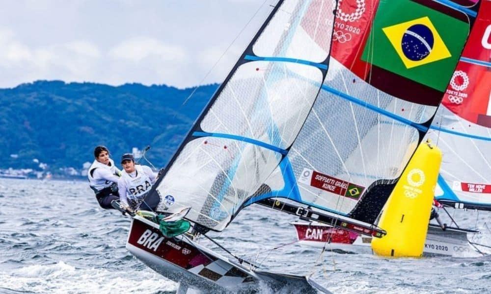 Martine Grael e Kahena Kunze - Jogos Olímpicos de Tóquio 2020 - Robert Scheidt - vela