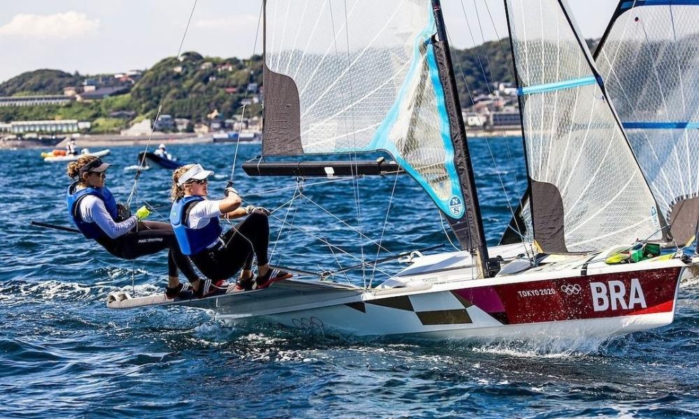 Martine Grael e Kahena Kunze - Robert Scheidt - Jorge Zarif - Jogos Olímpicos de Tóquio