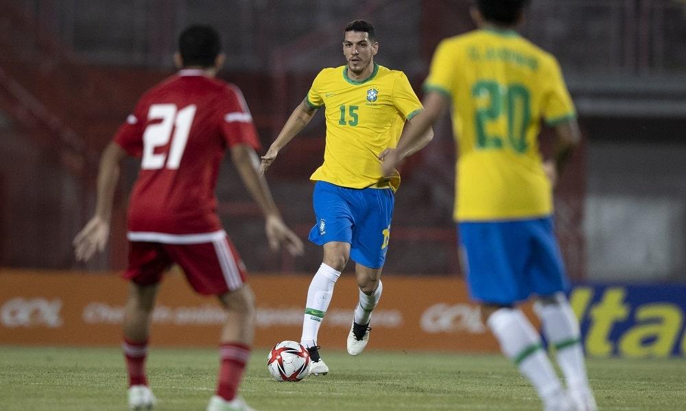 Nino - futebol masculino - Jogos Olímpicos de Tóquio 2020