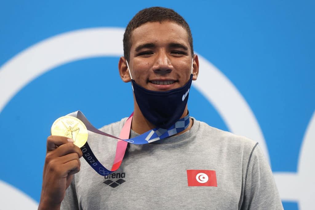 Ahmed Hafnaoui natação
