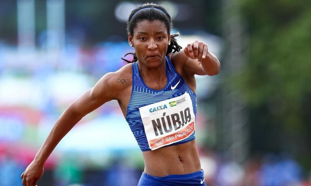 Núbia Soares - Geisa Arcanjo - 4x400m misto - Jogos Olímpicos de Tóquio