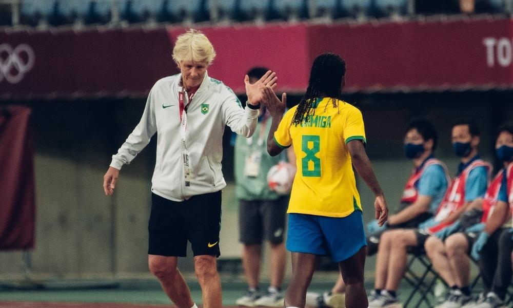 Pia - Formiga - Brasil e Holanda - Jogos Olímpicos de Tóquio