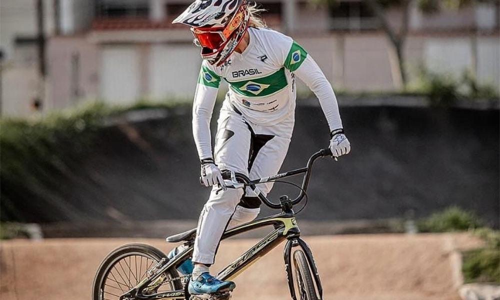 Priscilla Stevaux - Ciclismo BMX  - Jogos Olímpicos de Tóquio 2020