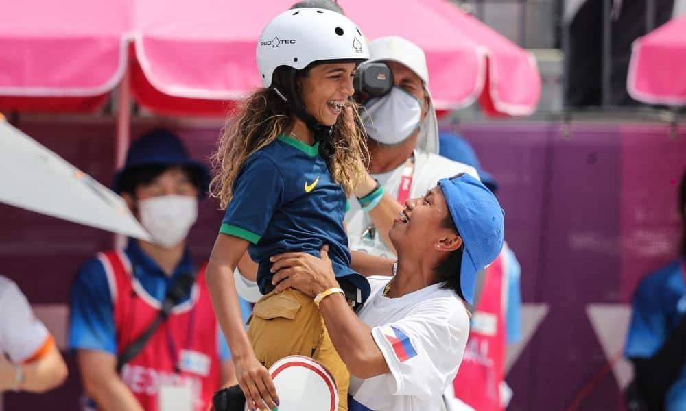 Rayssa Leal medalha de prata 2 milhões de seguidores skate street jogos olímpicos tóquio 2020