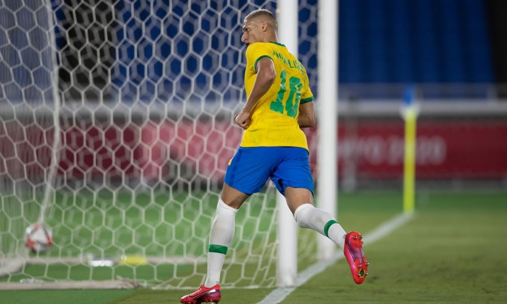 Brasil - Richarlison - Seleção olímpica masculina - Jogos Olímpicos de Tóquio