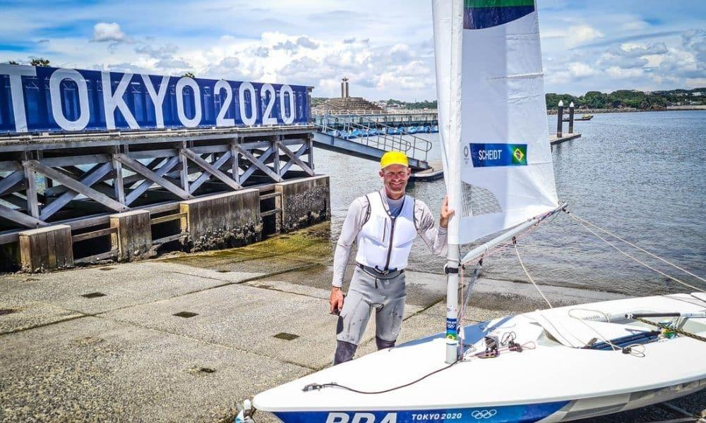 Robert Scheidt - Jogos Olímpicos de Tóquio 2020 - laser