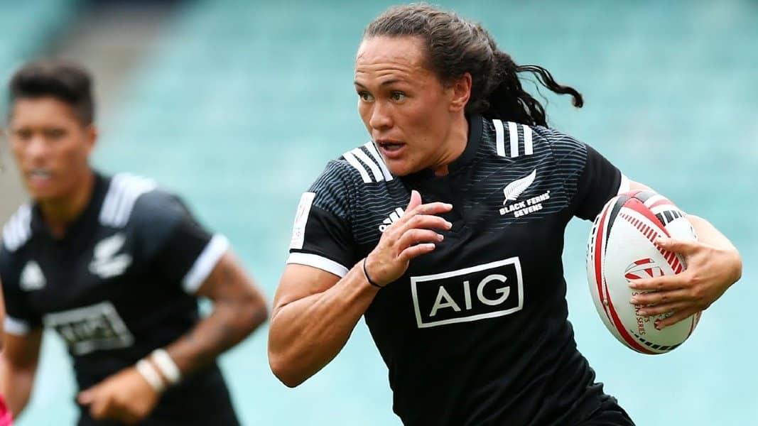 Portia Woodman rúgbi sevens Nova Zelândia