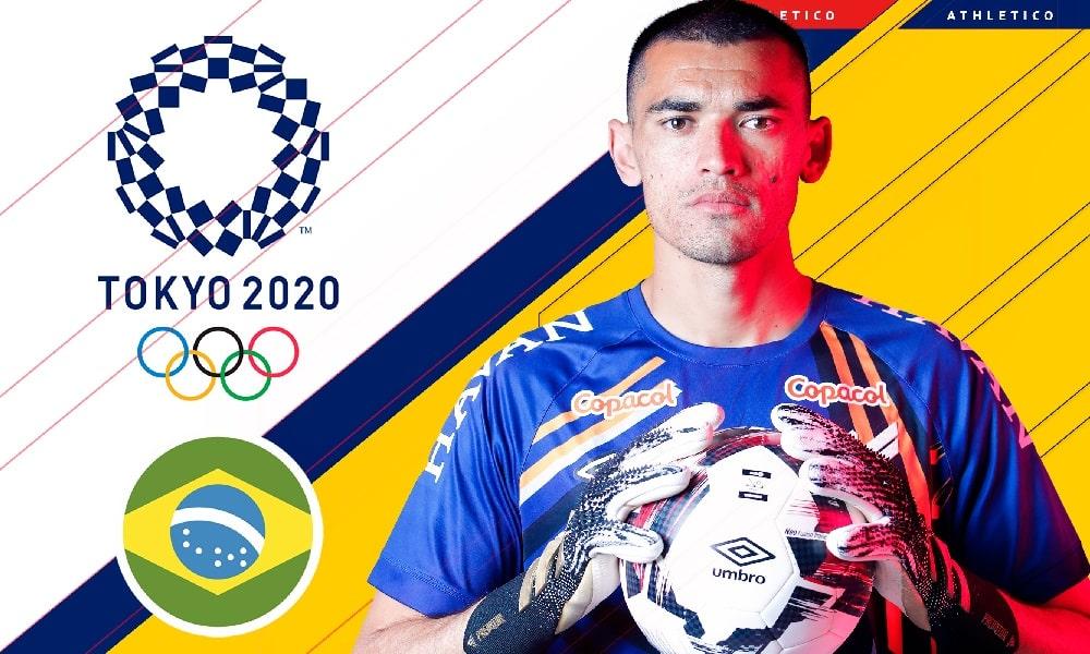 Santos - futebol masculino - Jogos Olímpicos de Tóquio 2020