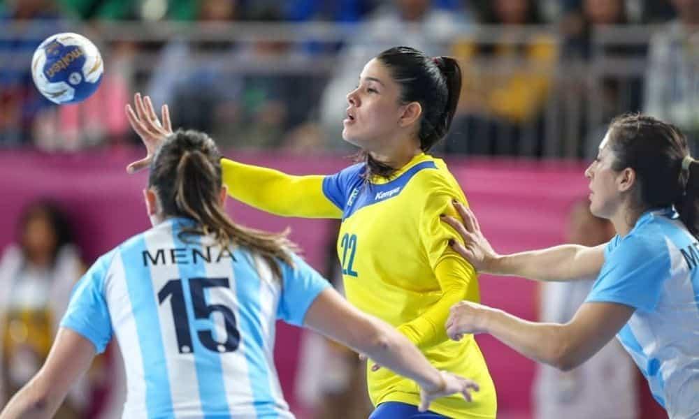 Samara Silva Vieira - handebol feminino - Jogos Olímpicos de Tóquio 2020 - Olimpíada - seleção brasileira de handebol feminio - Pan Lima 2019 -