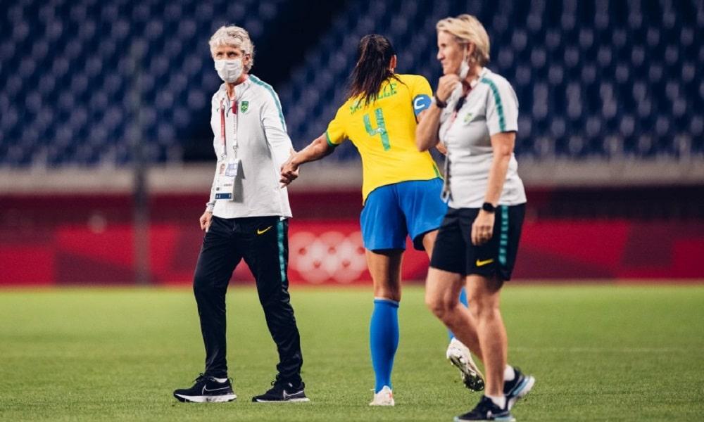 Seleção feminina do Brasil segue invicta nos Jogos Olímpicos de Tóquio 2020 e agora enfrenta o Canadá no matam-mata