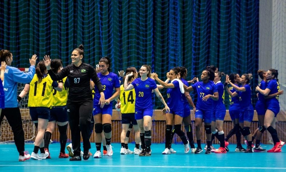 Seleção feminina de handebol - Brasil - Tóquio